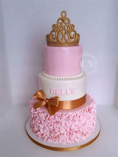Cakes For A Baby Shower by Princess Baby Shower Cakes Www Imgkid The Image