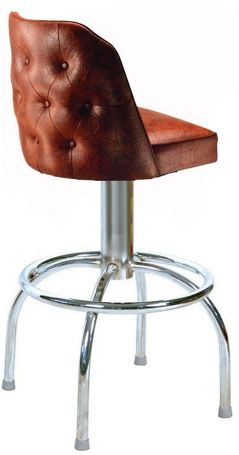Button Back Bar Stool by Tufted Bar Stool Tufted Stools Swivel