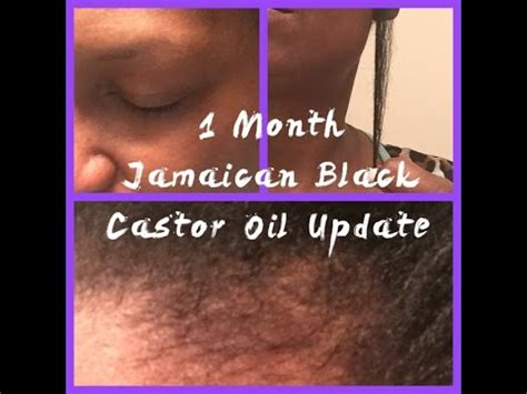 can castor oil be used on weavon jamaican black castor oil 1 month update before after