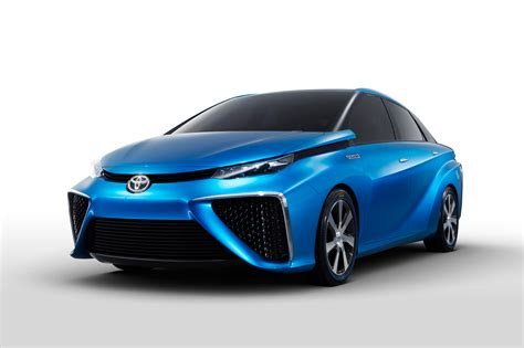 Toyota Fuel Cell Vehicle Toyota To Bring Fuel Cell Concept Car To Ces Cio