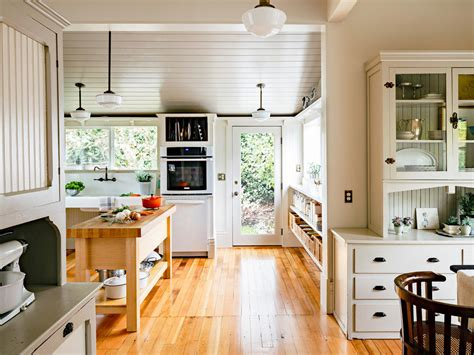 design  vintage modern kitchen sunset magazine