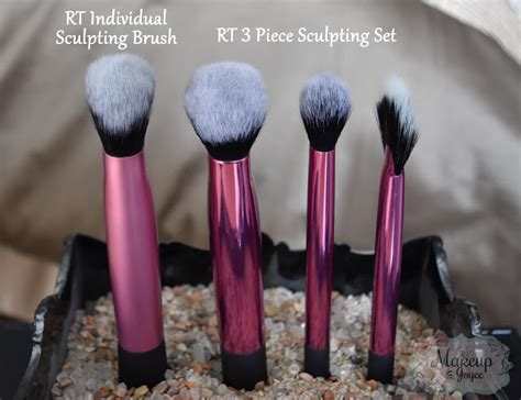 real techniques fan brush makeupbyjoyce review comparison real techniques