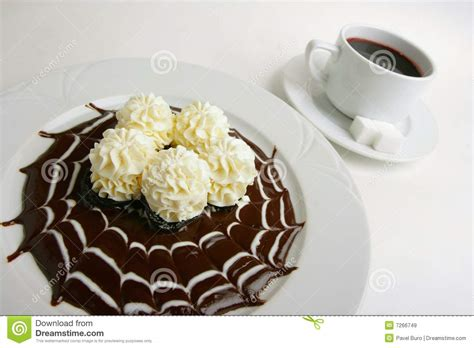 Cottage Cheese Chocolate by Cottage Cheese Mousse With Chocolate Royalty Free Stock