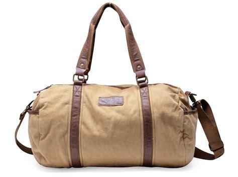 Souvenir Sport Bag Printedtas Tenteng 65 30317 canvas leather traveling sports shoulder duffle