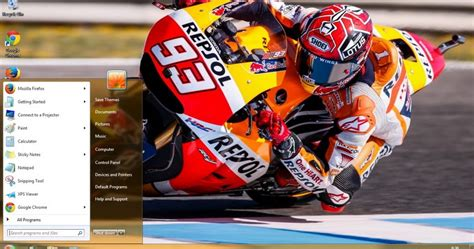 themes windows 7 valentino rossi marc marquez motogp 2015 theme for windows 7 and 8 save