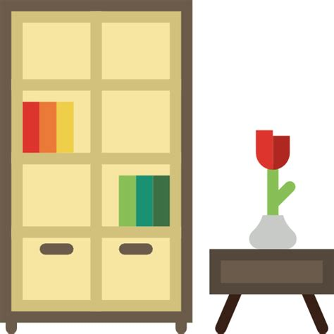 Book Shelf Icon by Bookcase Free Other Icons