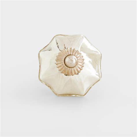 Mercury Glass Knobs by Silver Mercury Glass Knobs Set Of 2 World Market