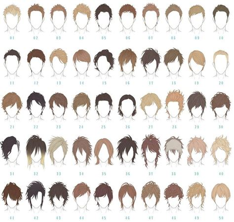 names of anime inspired hair styles best 25 anime boy hairstyles ideas only on pinterest