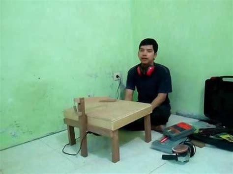 Gergaji Mesin Scroll Saw membuat meja scroll saw menggunakan mesin gergaji triplek jigsaw