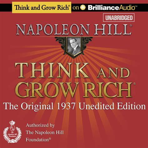 think and grow rich audiobook by napoleon hill read by fred stella for just 5 95