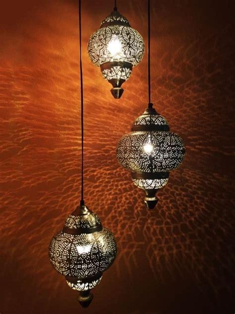 orientalische marokkanische silber leuchte haengelampen