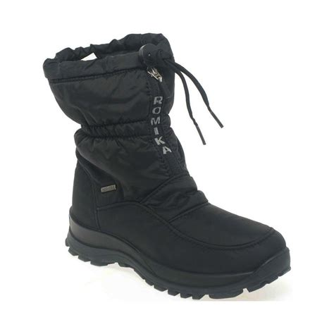 warm waterproof boots for snow boots romika alaska womens warm lined waterproof snow