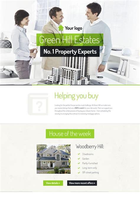 Vorlagen F 252 R Aktionsseiten Von Getresponse Real Estate Squeeze Page Templates