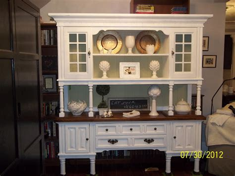 caign desk with hutch 10 furniture makeovers painiting stenciling waxing