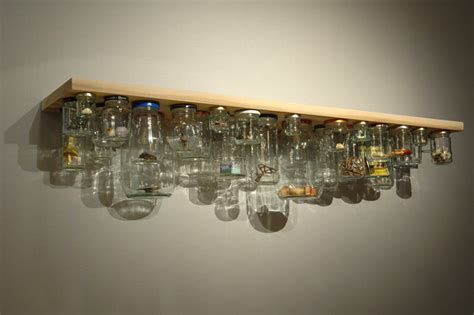 Jar Shelf by Jam Jar Shelf Wewastetime