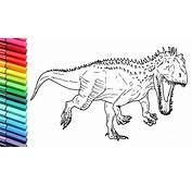 Jurassic World Raptor Coloring Pages 2410204
