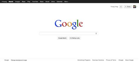 google wallpaper change how to change google homepage background image