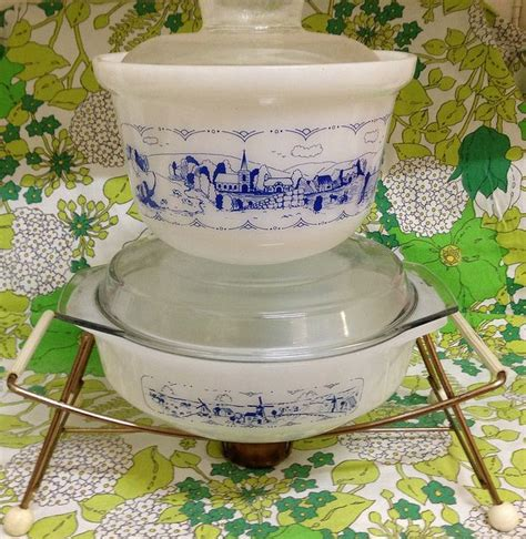 old white hoosier with yellow ware bowls bitchin in 2314 best pyrex images on pinterest vintage dishes