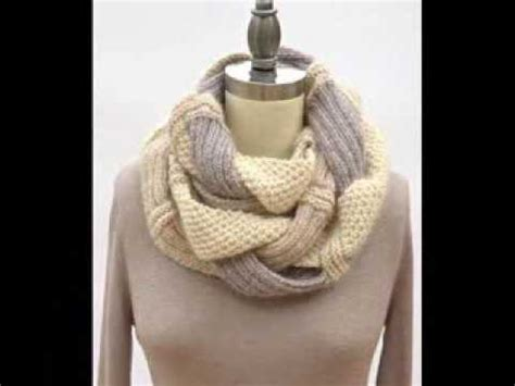 infinity scarf pattern knit youtube challah infinity scarf knitting pattern presentation