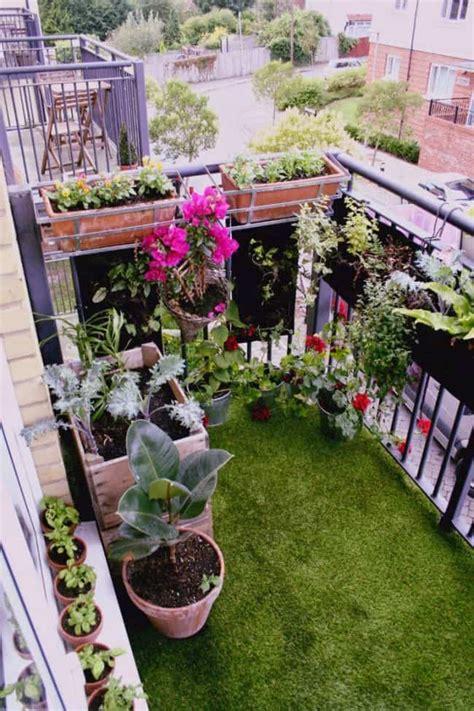 apartment balcony garden ideas    love