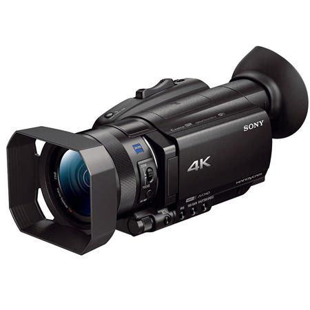 "sony fdr ax700 4k handycam camcorder with 1"" sensor"