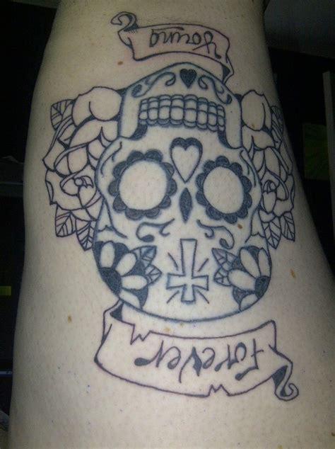 tattoo skull hd sugar skull tattoo by harley quinnxo on deviantart