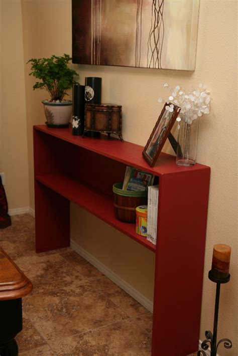 ana white simple elegant console table diy projects