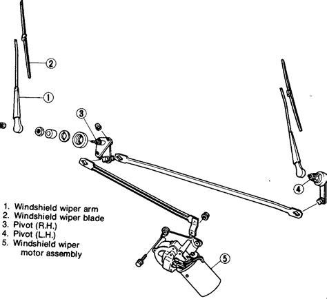 repair windshield wipe control 1995 dodge dakota parking system repair guides windshield wiper and washers wiper motor and linkage autozone com