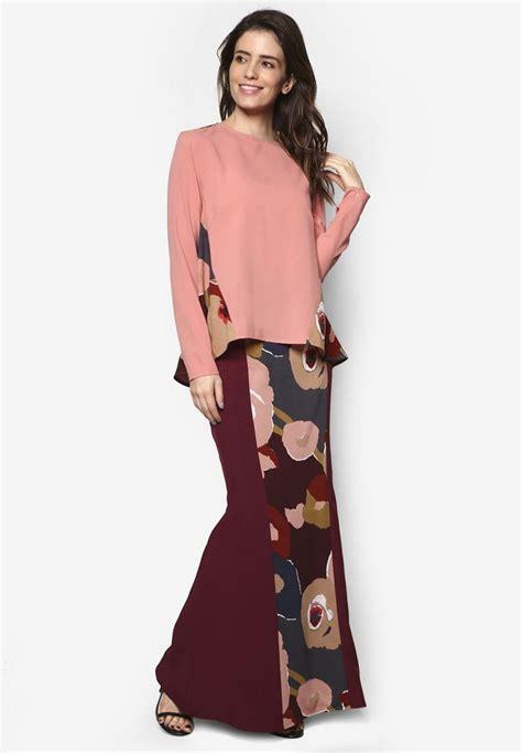 Set 2 In 1 Kebaya Modern Pink 17 best ideas about baju kurung on kebaya