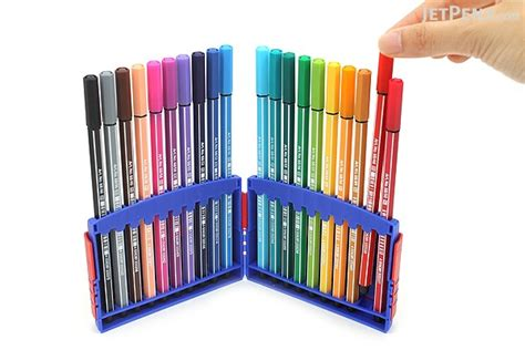 Stabilo Set 9 Warna stabilo pen 68 marker 1 0 mm 20 color set colorparade jetpens