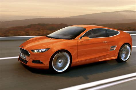 orange cars 2016 new ford capri unlikely auto express