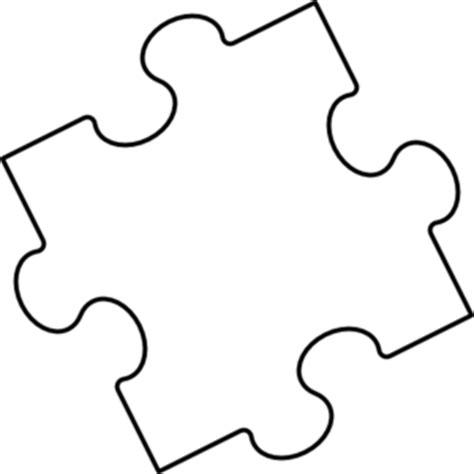 printable large puzzle pieces blank puzzle piece template clipart best