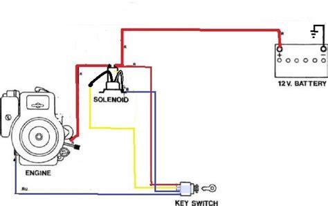 briggs  stratton fuel solenoid wiring diagram