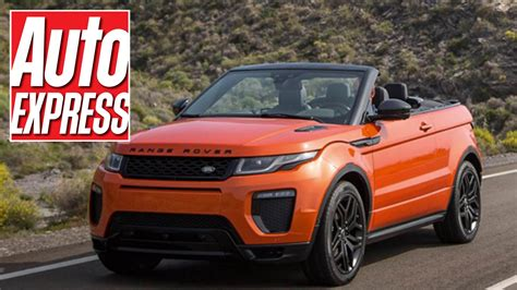 land rover discovery soft top new range rover evoque convertible first look at the 2016
