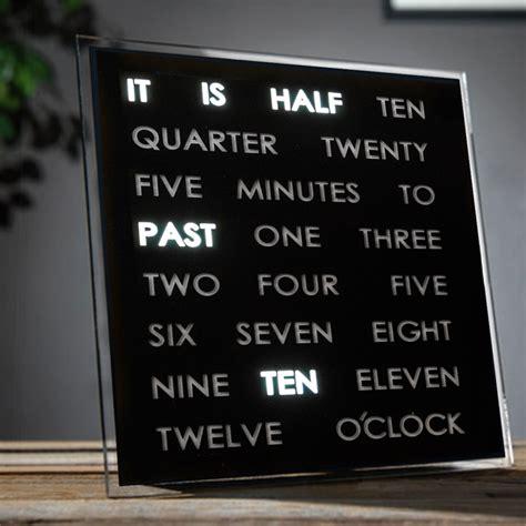 Cool Digital Wall Clocks orologio led da parete o da tavolo idee regalo