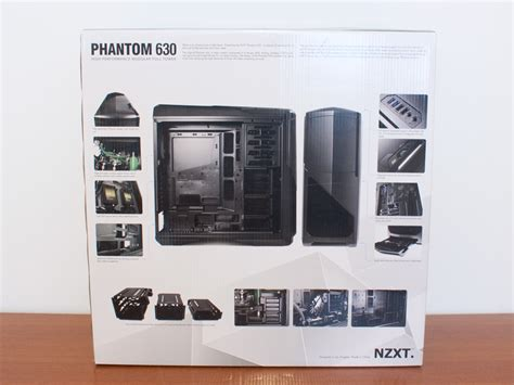 Nzxt Phantom 630 Black White Gun Metal nzxt phantom 630 review techpowerup
