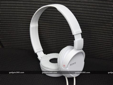 Headset Sony 110 By Ayumi sony mdr zx110 review ndtv gadgets360