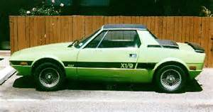 fiat x 1 9 bertone rear engine