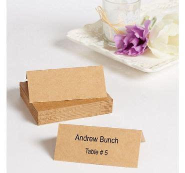 printable kraft paper place cards wedding place cards wedding place card holders party city