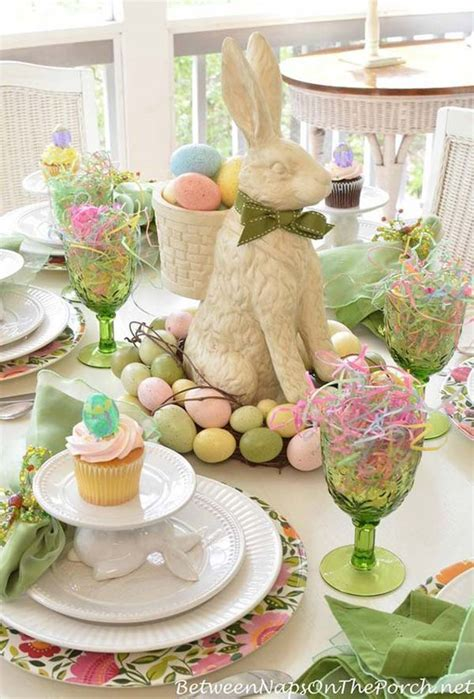 spring table settings ideas top 47 lovely and easy to make easter tablescapes