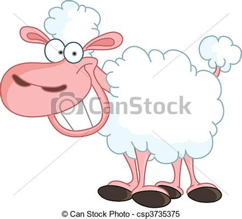 can stock photo clipart vecteur clipart de mouton rigolote mouton 224 grand
