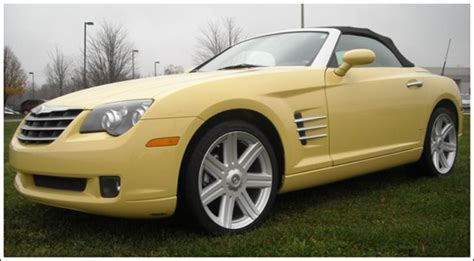 Chrysler Crossfire 2009 2005 2009 Chrysler Crossfire Convertible Tops And