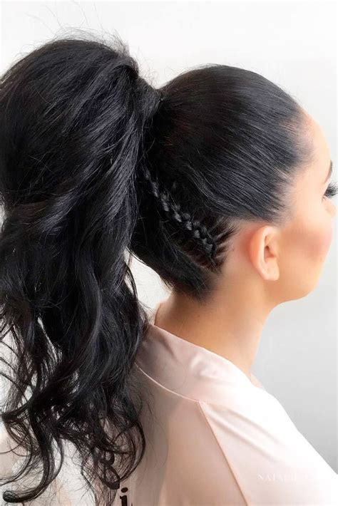 thin and slight curly pony hairstyles gallery cute curly ponytail hairstyles black hairstle