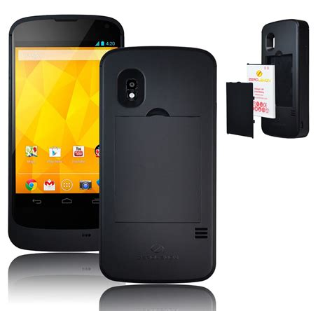 android phones with removable battery zerolemon takes on the nexus 4 with the quot juicer quot 40 for a swappable 2250mah battery