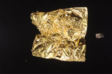 Ak105 Kalung Black Multiply Gold Leaf atom of gold