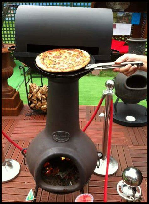 chiminea accessories bbq pizza oven attachment for chiminea
