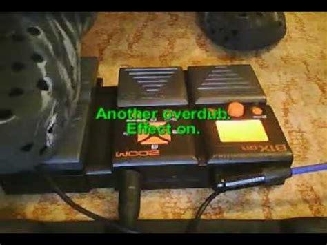 Perangkat Elektronik Zoom B1xon Bass Multi Effect Pedal review pedal multiefecto para bajo me 20b doovi