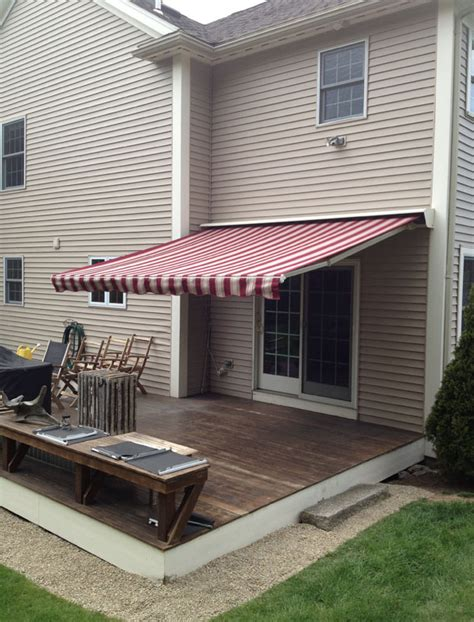 Sunsetter Oasis Freestanding Awning by Sunspaces Awnings Retractable Awnings Boston Ma