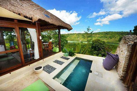 private pool bali villas  wont