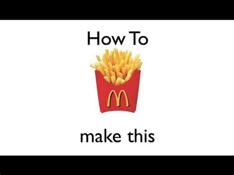 How To Make Paper In Mc - how to make a mcdonalds fry cup origami easy